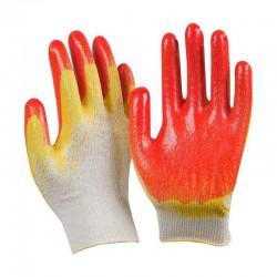 Перчатки х/б с двойным...